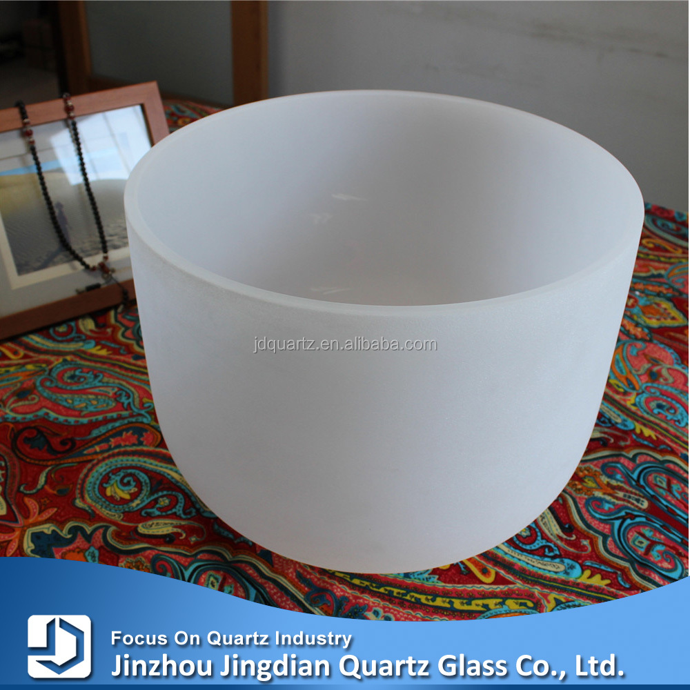 JD Opaque Singing Healing Melting Fused Silica Glass Crucible