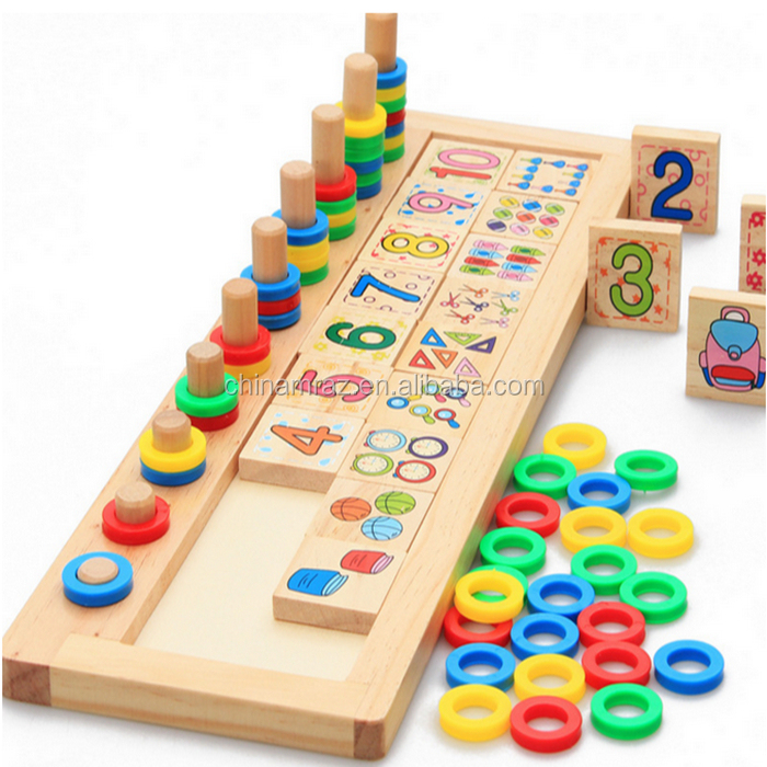 hot selling math learning wooden educational toys for kids