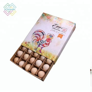 Factory Custom Box Inner Egg Milk Carton Modern Packaging