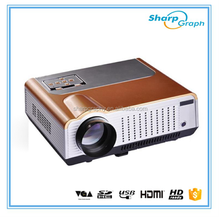 Native resolution 3000Lumens Full HD 3D 1080p LED Projector 1920x1080 Mutilmedia Projector LX580