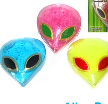 alien diy make your own crazy scented slime colorful bath maker