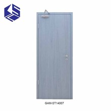 Customized fire resistant door for electric room emergency exit doors ecological fire door