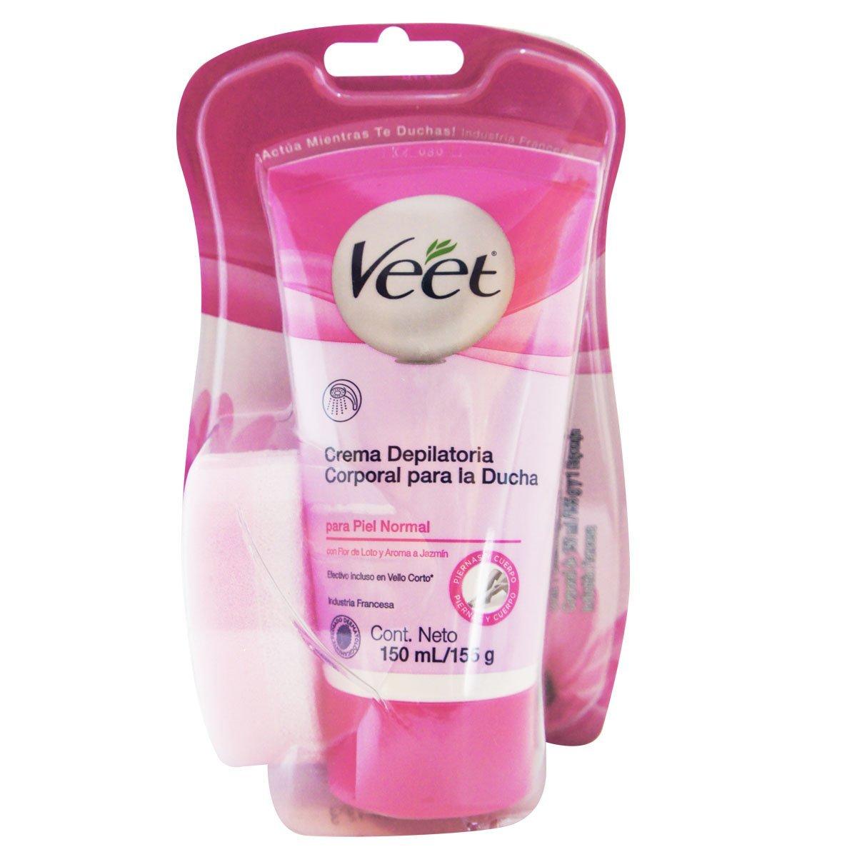 Buy Veet In Shower Hair Removal Cream Normal Skin With Lotus Milk