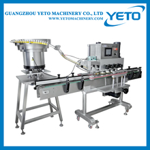 Best price automatic bottle linear capping machine with bottle unscrambler