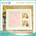 baby souvenirs newborn wooden wall decor box frame memory kit many colors