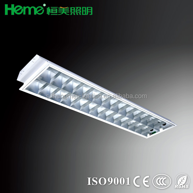 Light fitting grid lamp
