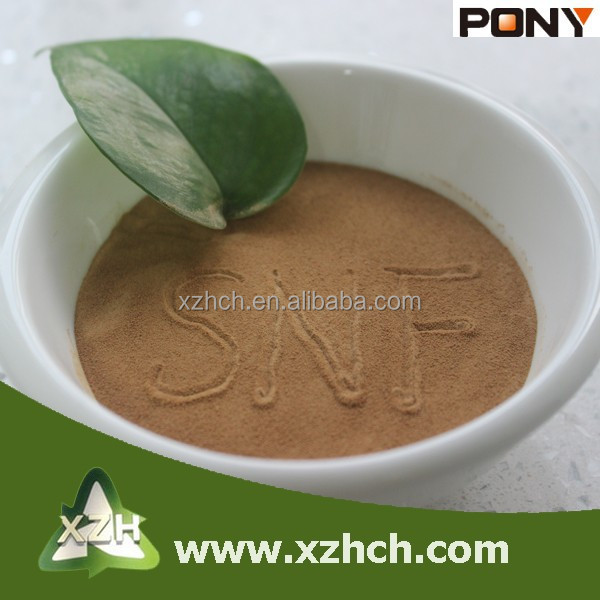 drill mud 18% water reducing rate poly naphthalene formaldehyde (PNS) from China DZZ6