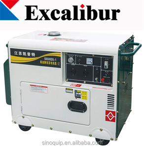 cheap price high quality lister type generators silent type S6500DS-1