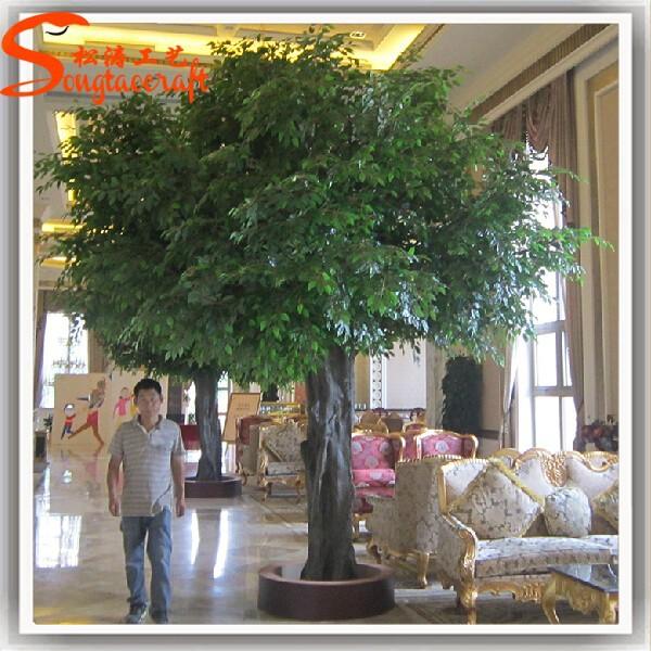 Grande Exterior Y Cubierta Decorativa Artificial Del árbol