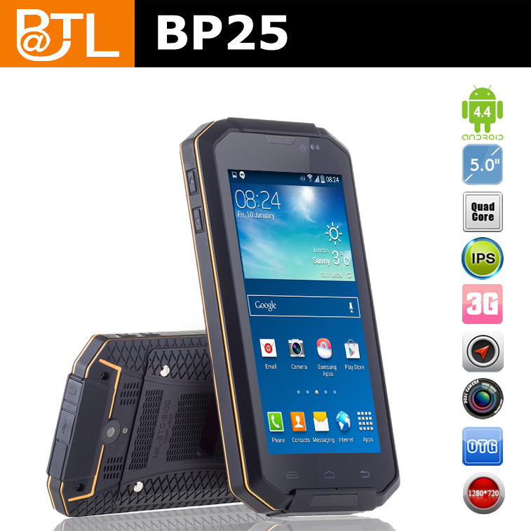 FYC147 BATL BP25 android 4.4.2 durable cell phones shockproof keypad, wireless charging outdoor phone