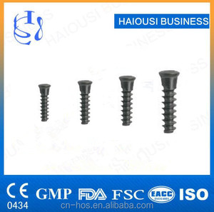 Orthopedic Spine Screw Implants , Spinal Screw,