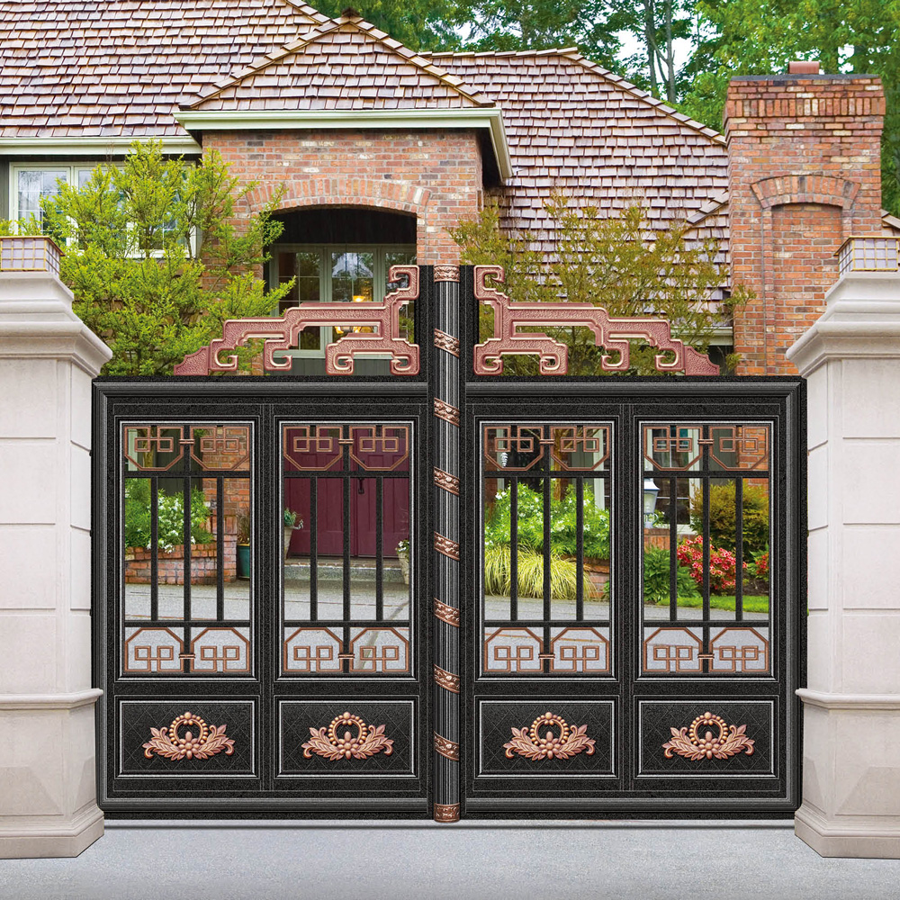 Amusing home gate wall designs photos best inspiration for Wall gate design homes