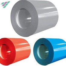 China hot sale hot rolled cheap price color coated coils for building roofing sheet