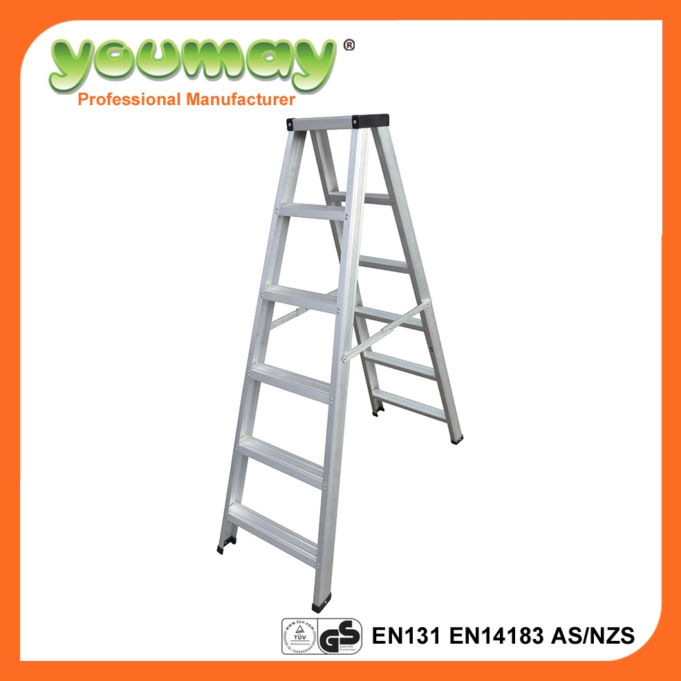 6 step house-hold cheap aluminum ladder AD0706C
