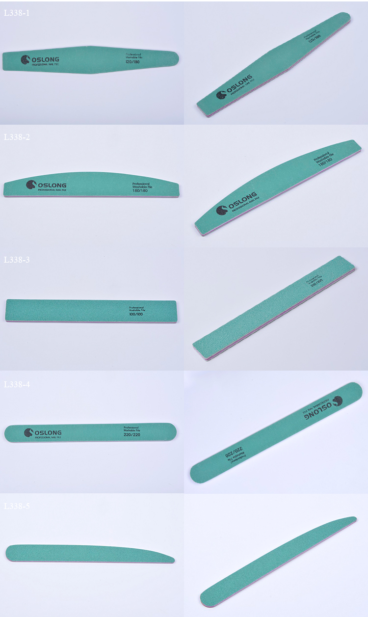 Hot sale washable nail file / Wholesale disposable professional nail file for beauty and personal care
