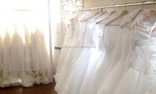 Top Quality Fine Bride Folding Organdy Wedding Dress Cover with 1 Color Logo Printing Accepted