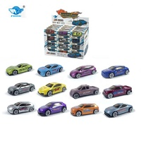 Amazon Hot Selling racing style diecast car toy metal car model for Kids die cast toy vehicle