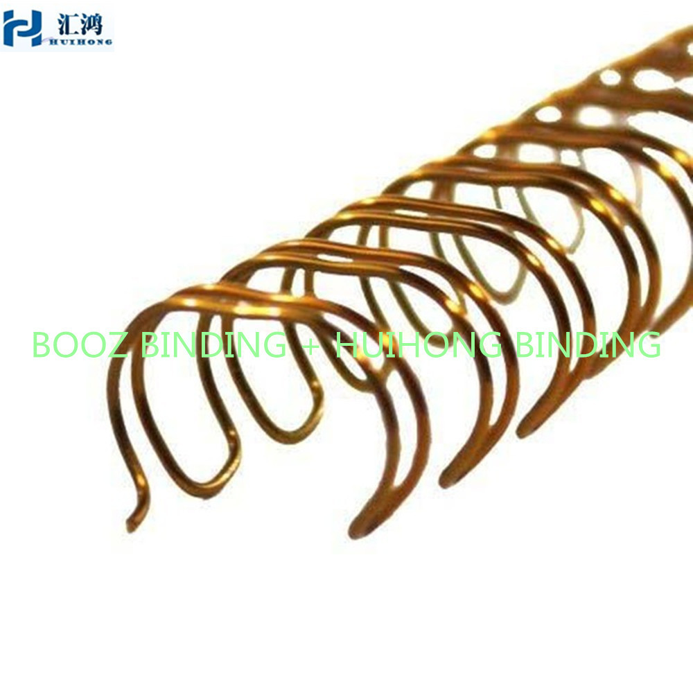 Double Wire Spiral Binding Black,Double Ring Ring