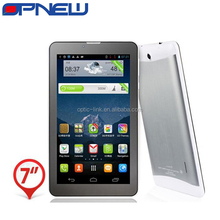 China OEM 7 inch Quad Core Phablet 3G GSM Phone Tablet PC