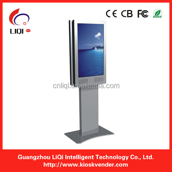 "55"" adjustable Kiosk with 1080P touch screen"
