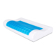 Ergonomic Hotel Bed Contour Visco Cervical Pillow Hypoallergenic Silicone Cooling Gel Memory Foam Pillow