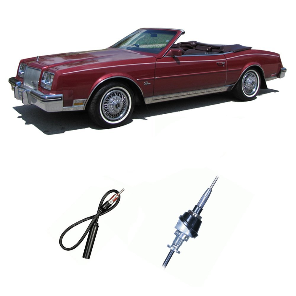 Get Quotations · Buick Riviera 1983-1985 Factory OEM Replacement Radio  Stereo Custom Antenna Mast