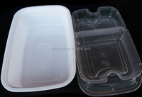 Manufacturer support useful blister plastic food container/disposable food box/blister food packaging tray