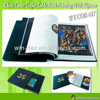 Wt-cob-447 Printing Coffee Table Books