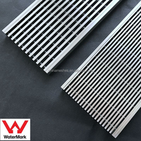 Stainless steel streamlined wedge wire drainage outdoor drain cover