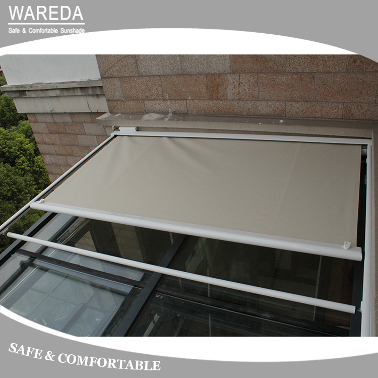 Awnings Roof aluminum glass room motorized awning