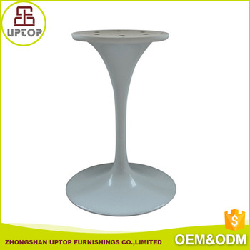 China Supplier Furniture Parts Cheap Aluminum Restaurant Tulip Table - Restaurant table base parts