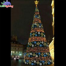 Dongguan obbo lighting co ltd christmas lightsled christmas tree 220v led christmas decorations waterproof giant led light tree aloadofball Image collections