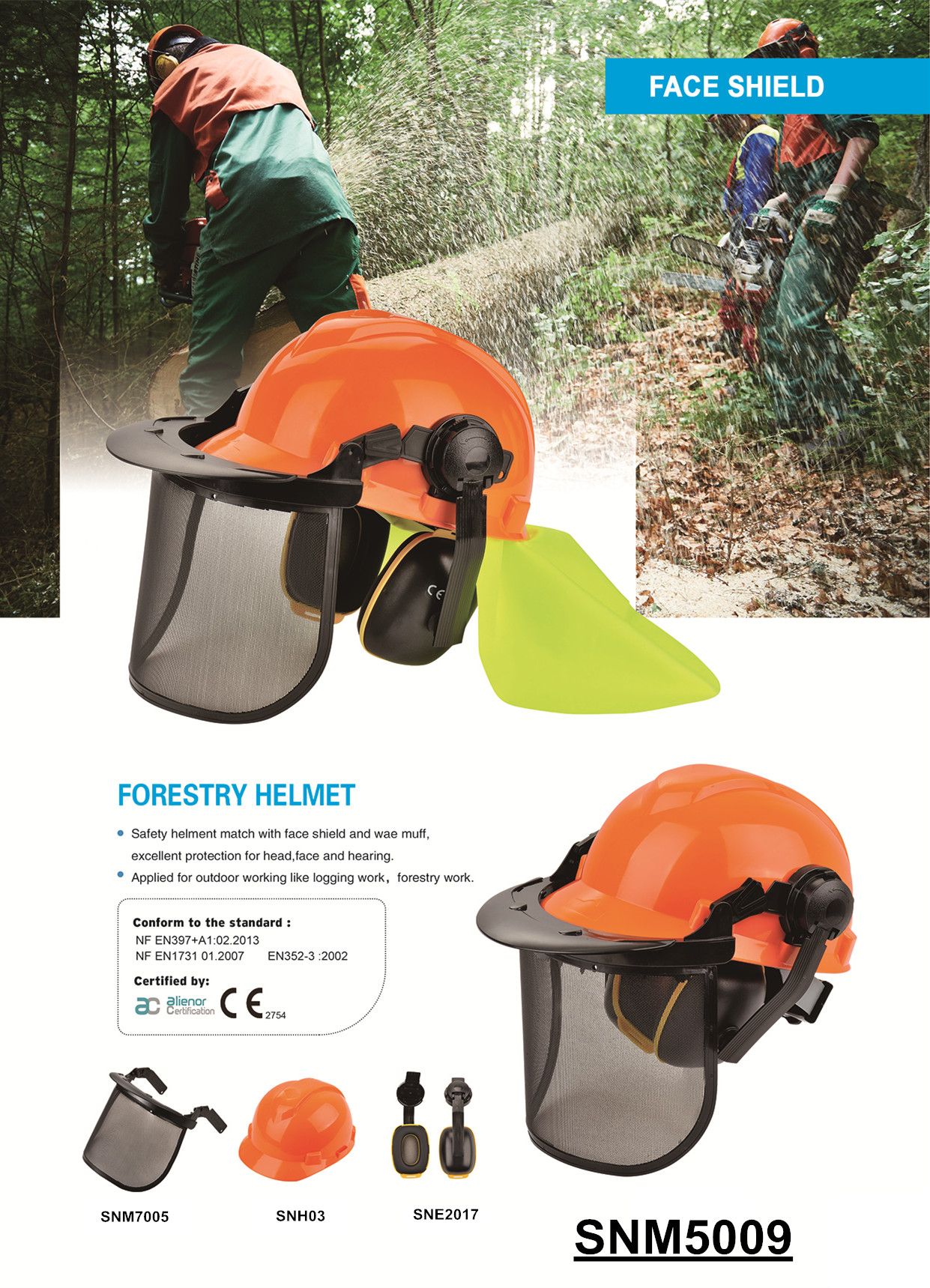 ANT5 Africa best seller anti impact anti splash protective cheap hard hats with face ear protection