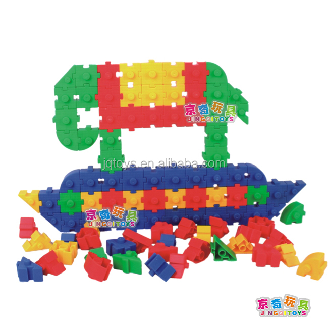 Plastic connect toy for kids small building blocks