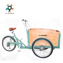 Electric 150kgs load front loading cargo tricycle