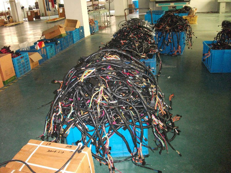 Amazing Motorcycle Complete Assembly Line Electric Wiring Harness Wiring 101 Capemaxxcnl