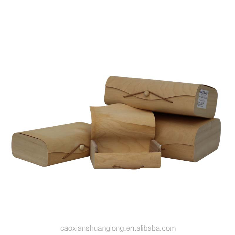 High quality custom wooden pen box wholesale, cheap wooden simple candle box