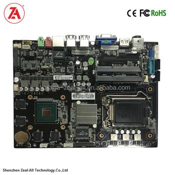 Core I7 Dual Cpu Motherboard With Ram Ddr3 2 Sata Wifi 6 Nvidia Geforce Gtx  750 Ti Graphics Card For Member Self-service Kiosks - Buy Core I7 Dual Cpu