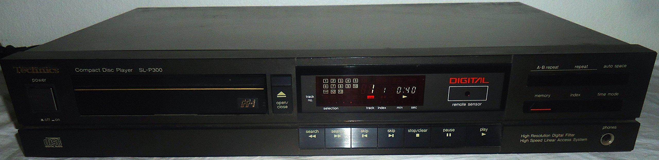 Technics SL-PG300 Single CD Disc Compact Disc Player