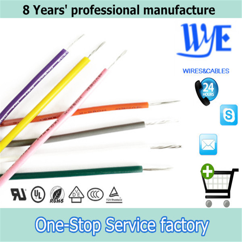 22AWG UL 3135 Multicolor Silicone Rubber electric Wire for LED lights