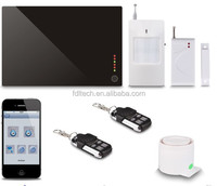 2014 New Arriving 3G/GSM Multi-Languages Wireless GSM Alarm Host With iPH & iCMS Remote Controlling
