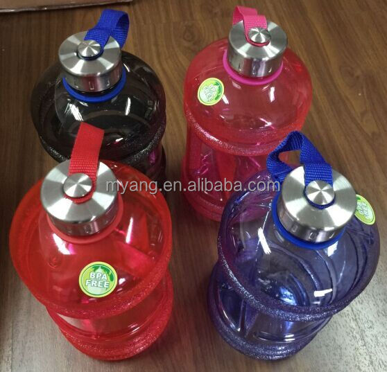 2.2 liter Water jug with side handle/Drinking Water Plastic Bottle/BPA FREE plastic water jug, plastic water bottle