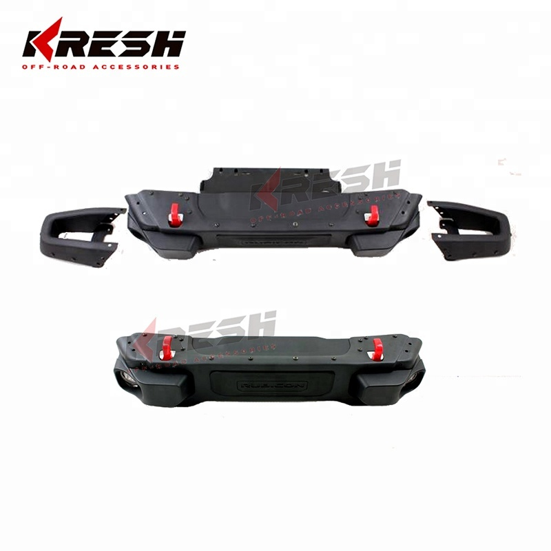 Beijing Kresh 10th anniversary jeep wrangler front bumper with led light wrangler bumper jeep wrangler accessories