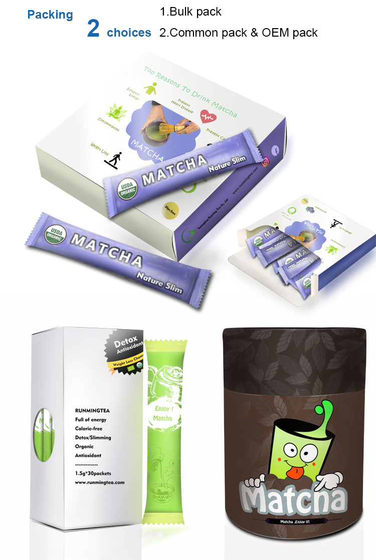 Matcha Bag Shizuoka Cake Chocolate Flavored Packaging Leaf Bulk Mask Drink Vanilla Japon Flavor Green Tea Diet Sweets Powder