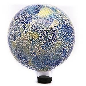 Alpine 10 in. Bright Mosaic Gazing Globe by Alpine