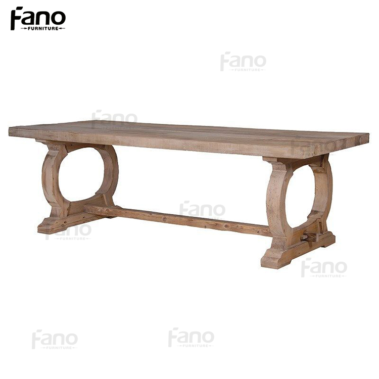 cheap narrow japanese old wood dining table
