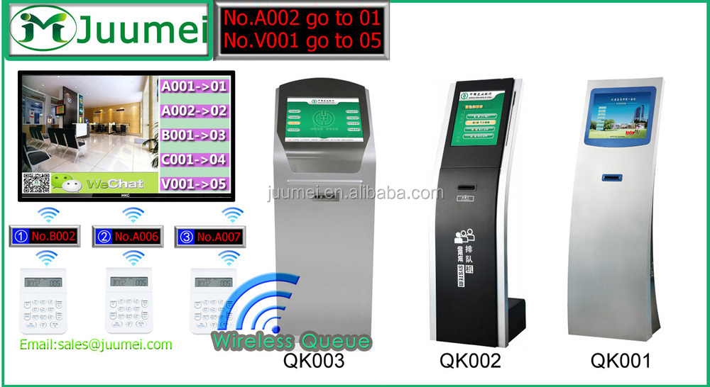Juumei Government Wireless Office Smart Queue Management System ...