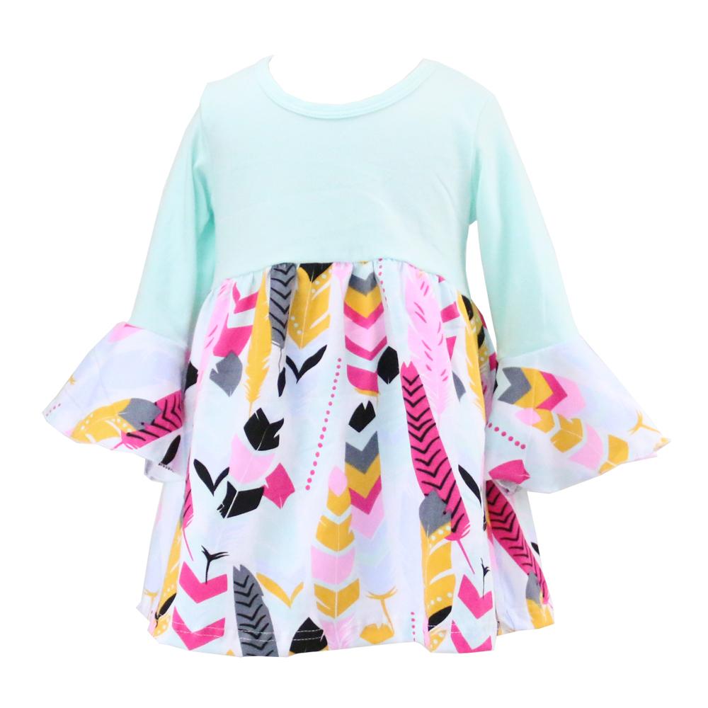 2f8f46c46fe8 Wholesale 2018 Baby Girls Boutique Dresses Net Cotton Frock Designs ...