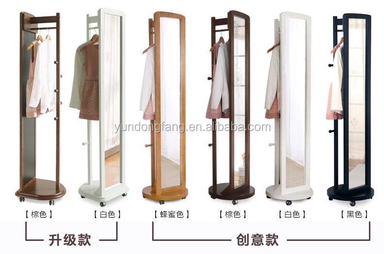 Multifunktions schlafzimmer moderne dressing spiegel und hall holz