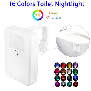 Shenzhen Manufacturer Bathroom Motion Sensor LED Toilet Bowl Night Light